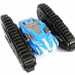 Радиоуправляемые игрушки - Танк на радиоуправлении Thunder Trax, синий, 0