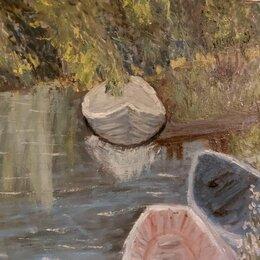 Картины, постеры, гобелены, панно - Картина лодочки, 0