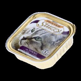 Корма  - MISTER STUZZY CAT консервы  д/кош, с Тунцом, алюпак (уп-32шт) 100гр, 0