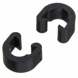 """Тросики и рубашки для велосипеда - Клипса для фиксации тросика к раме """"YZ-16014"""" (100 штук), 0"""