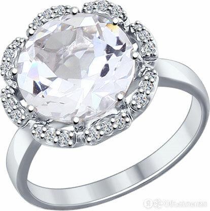 Кольцо SOKOLOV 92011206_s_19 по цене 1150₽ - Кольца и перстни, фото 0