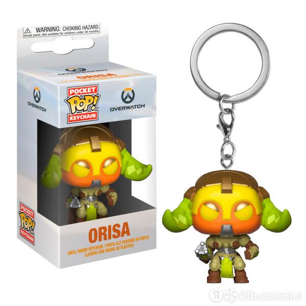 Брелок Funko Pocket POP! Keychain: Overwatch: Orisa 37440-PDQ по цене 490₽ - Игровые наборы и фигурки, фото 0