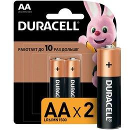 Батарейки - Элемент питания алкалиновый LR MN 1500/LR6 Basic BP-2 (блист.2шт) Durace..., 0