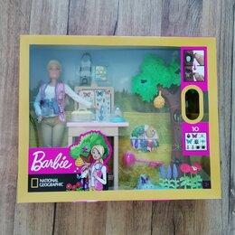Куклы и пупсы - Barbie Кем быть National Geographic Энтомолог GDM49, 0