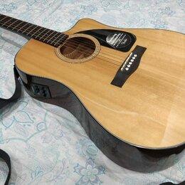 Акустические и классические гитары - Акустическая гитара Fender CD-60CE, 0
