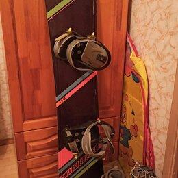 Сноуборды - Сноуборд nidecker 155 комплект, 0