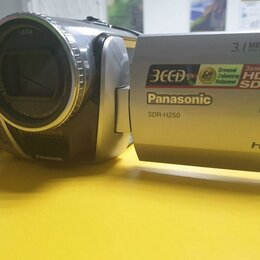 Экшн-камеры - Видеокамера Panasonic SDR-H250 (кк-51761), 0