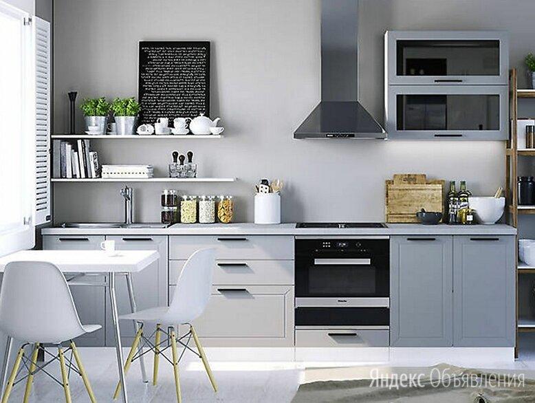 Кухня модульная Глетчер 3 м по цене 21900₽ - Мебель для кухни, фото 0