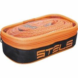 Прочие аксессуары  - Трос буксировочный 10 т, 2 крюка, сумка на молнии Россия Stels, 0