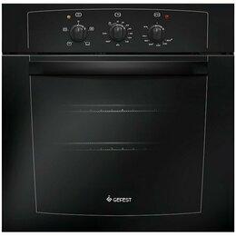 Духовые шкафы - Газовая духовка Gefest 601-01 А Белый антрацит , 4 режима, таймер , металичес..., 0