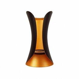 Подсветка - Настенный светильник LED 2236 BK-GD, 0