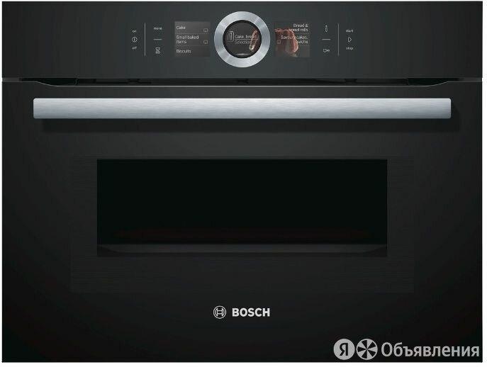 Компактный электрический духовой шкаф BOSCH CMG6764B1 по цене 205990₽ - Духовые шкафы, фото 0