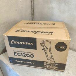 Мотоблоки и культиваторы - Электрический культиватор CHAMPION EC1200, 0