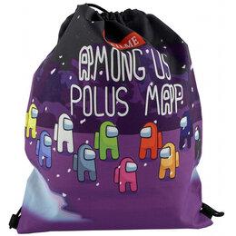 Рюкзаки, ранцы, сумки - Мешок для сменной обуви AMONG US черный Артикул: 16550-27, 0