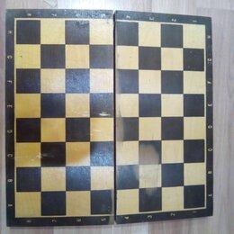 Настольные игры - Деревянная шахматная доска, 0