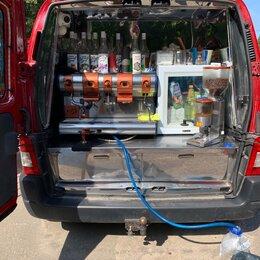 Общественное питание - Мобильная кофейня Фургон с кофемашиной и фризером Уличная торговля, 0