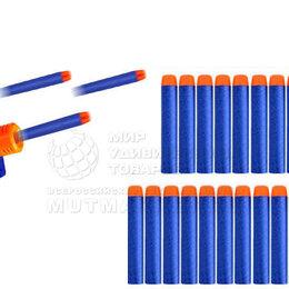 Аксессуары и комплектующие - Мягкие пульки для бластера 20 шт. в наборе, 0