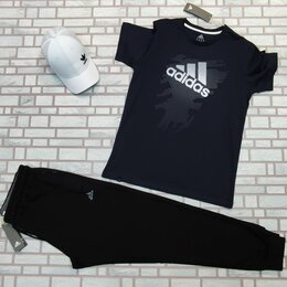 Спортивные костюмы - Комплект спортивный футболка и штаны, 0