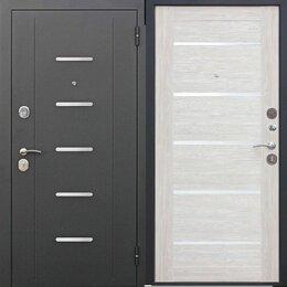 Входные двери - Дверь входная стальная Гарда муар Лиственница беж царга в наличии, 0