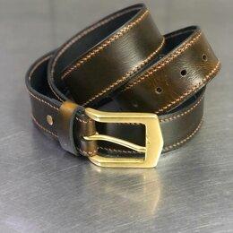 Ремни, пояса и подтяжки - Кожаный ремень ручной работы, 0