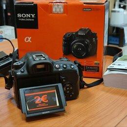 Фотоаппараты - Зеркальный фотоаппарат Sony SLT-A58K , 0