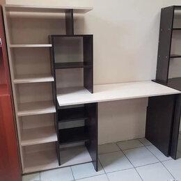 Компьютерные и письменные столы - Стол компьютерный квартет-4 (венге / дуб молочный) 💥0720💥, 0