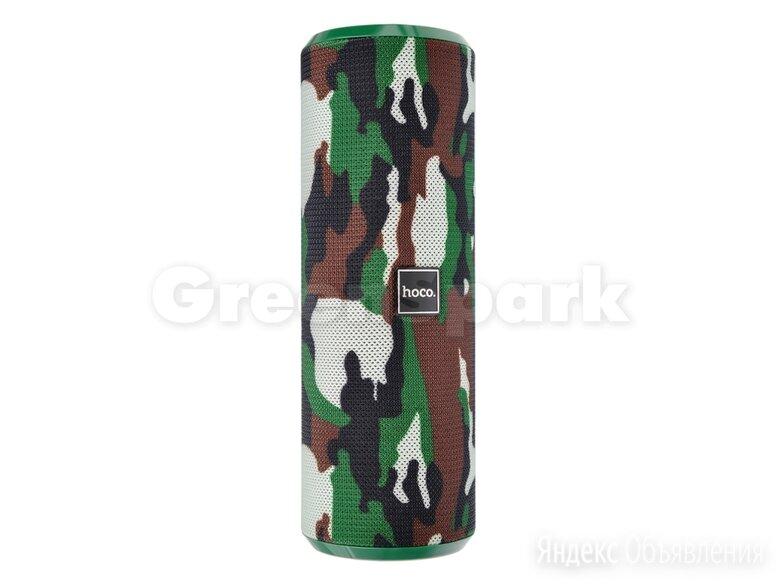 Колонка-Bluetooth HOCO BS33 Voice (зеленый камуфляж) по цене 1190₽ - Акустические системы, фото 0