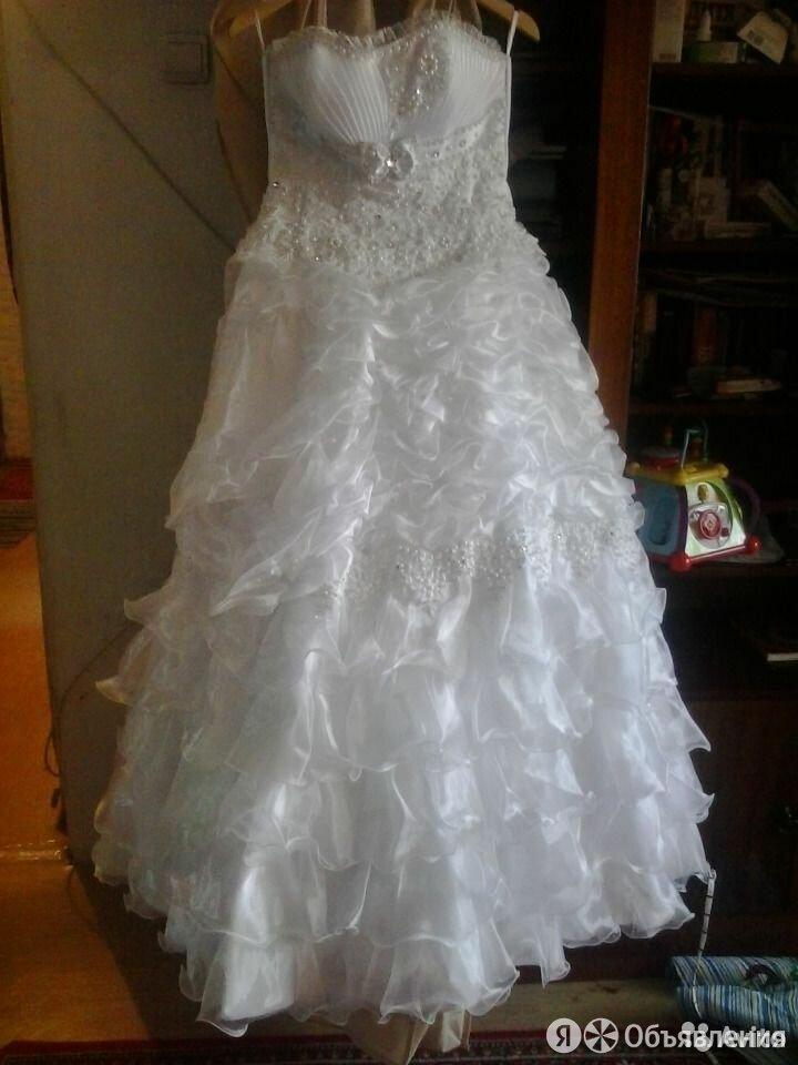 Продам свадебное платье 48-50 размер по цене 3000₽ - Платья, фото 0