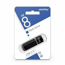 USB Flash drive - Флэш карта USB 8GB Smartbuy Quartz, 0
