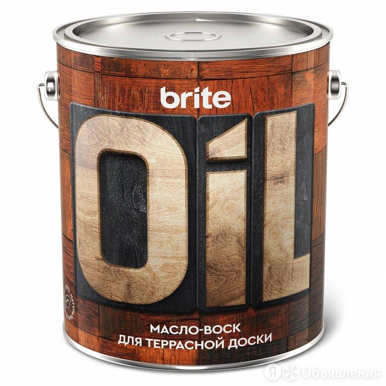 Масло-воск для террасной доски BRITE 211152 по цене 3630₽ - Масла и воск, фото 0