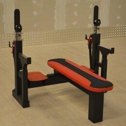 Другие тренажеры для силовых тренировок - Скамья для пауэрлифтинга профессион. Изготовление, 0