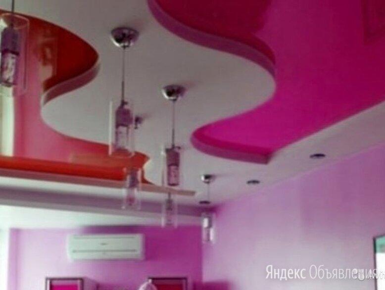 Натяжные потолки по цене 200₽ - Потолки и комплектующие, фото 0