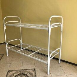 Мебель для учреждений - Кровать металлическая двухъярусная , 0
