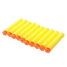 Пульты ДУ - Набор мягких пуль с присосками, 10 шт., цвета МИКС 3747633, 0