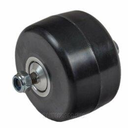 Лыжероллеры и ботинки - Ролик классический каучук 74 х 45 мм с храповым механизмом, 0