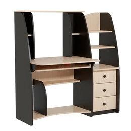 Компьютерные и письменные столы - Стол компьютерный ск-3 (венге), 0
