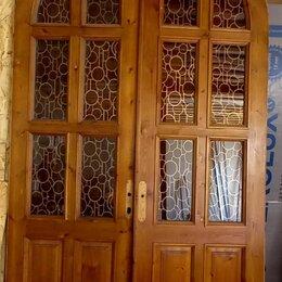 Межкомнатные двери - Арочные двустворчатые двери межкомнатные, 0