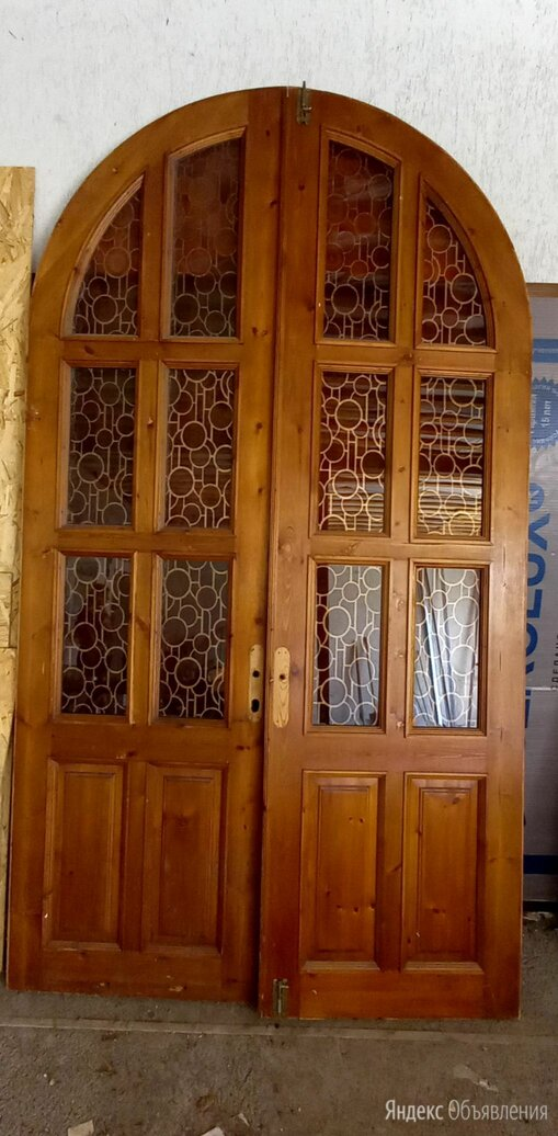 Арочные двустворчатые двери межкомнатные по цене 5000₽ - Межкомнатные двери, фото 0