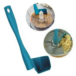Шпатели - Вращающийся шпатель для кухни, чёрный, 0