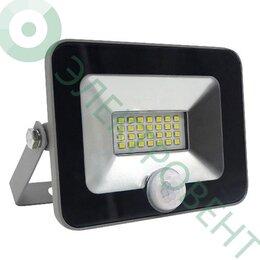 Прожекторы - Светодиодный прожектор FL-LED Light-PAD SENSOR 10W 4200К 850Лм 10Вт, 0