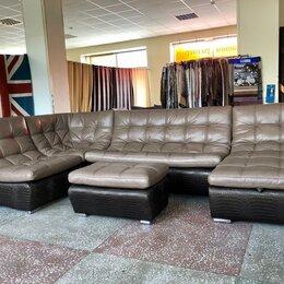 Диваны и кушетки - Кожаный модульный диван ланкастер, 0