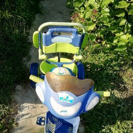 Трехколесные велосипеды - Велосипед детский трехколесный  с ручкой  управления. , 0