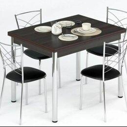 Столы и столики - Набор мебели для кухни Leset Лиль 1Р + Рейн, Венге, 0