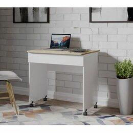 Компьютерные и письменные столы - Столик компьютерный на колесиках, 0