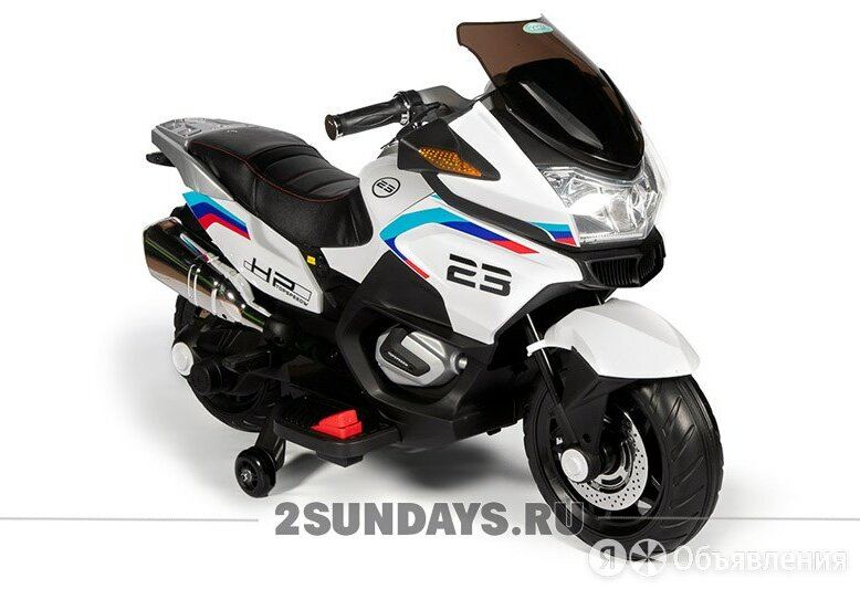 Детский электромотоцикл Barty XMX609 белый по цене 16900₽ - Электромобили, фото 0