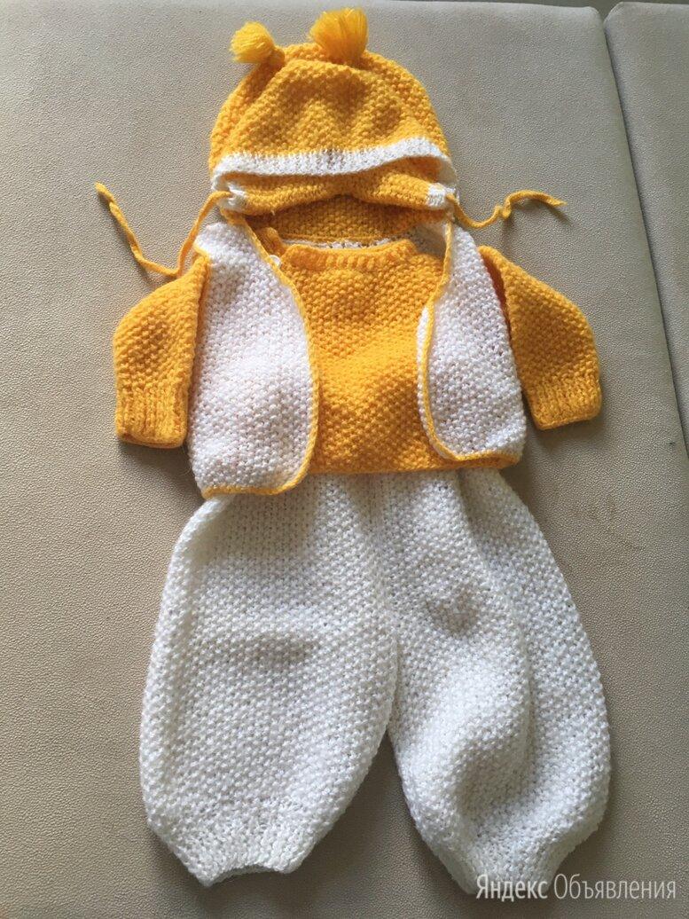 Вязаный костюмчик для малыша 6-12 мес по цене 600₽ - Комплекты, фото 0
