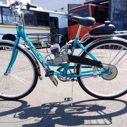 Мото- и электротранспорт - Велосипед с мотором Techno Lady, 0
