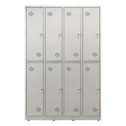 Мебель для учреждений - Шкаф металлический СПОРТ ШРМ 420, 0