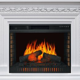 Камины и печи - Royal Flame Каминокомплект Valletta - Белый с очагом Vision 30 EF LED FX, 0