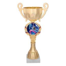 Головоломки - Кубок спортивный «Спортивные танцы», 21,5 х 7,5 х 6 см, 0